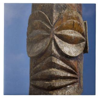 French Polynesia, Cook Islands, Rarotonga, Large Square Tile