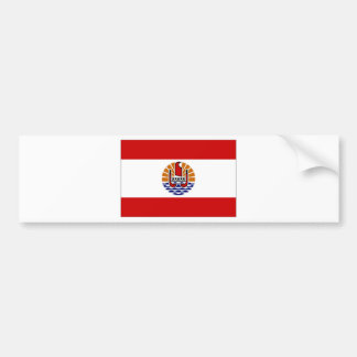 French Polynesia Flag Bumper Sticker