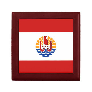French Polynesia Flag Gift Box