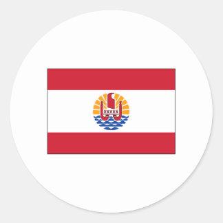 French Polynesia FLAG International Sticker