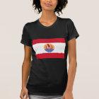 French Polynesia Flag PF T-Shirt