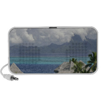 French Polynesia, Moorea. A view of the island Laptop Speaker