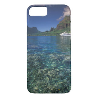French Polynesia, Moorea. Cooks Bay. Cruise ship iPhone 7 Case