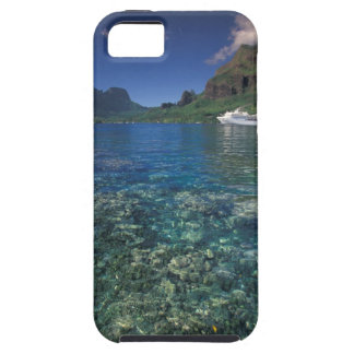 French Polynesia, Moorea. Cooks Bay. Cruise ship Tough iPhone 5 Case