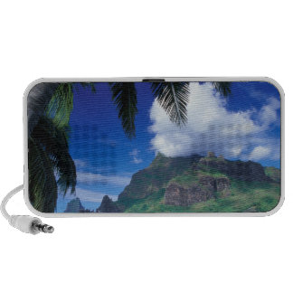 French Polynesia, Moorea. Cooks Bay. Green iPhone Speakers