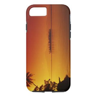 FRENCH POLYNESIA, Moorea. Sunset. iPhone 8/7 Case
