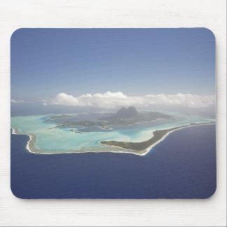 French Polynesia, Tahiti, Bora Bora. The Mouse Mat