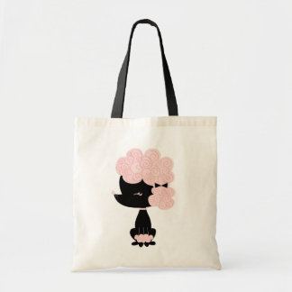 French Poodle Tote Bag