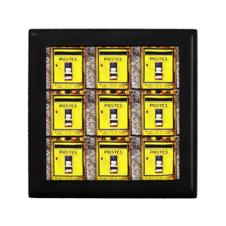 French Post Boxes Jewellery/Gift Box