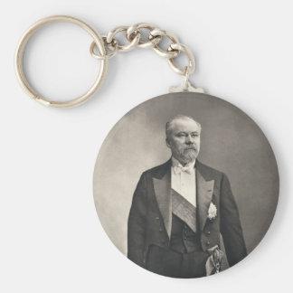 French President Raymond Poincaré Key Chain