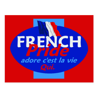 French Pride Postcard