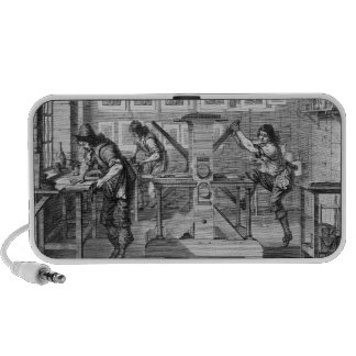 French printing press 1642 iPhone speakers
