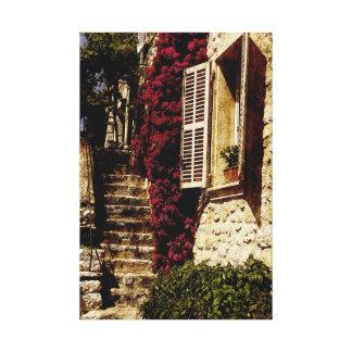 French provancal cityscape canvas prints