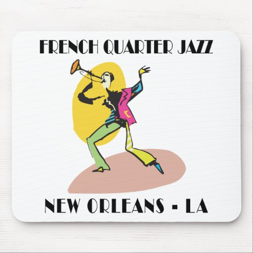 French Quarter New Orleans Mousepads