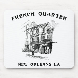 French Quarter New Orleans Mouse Pads