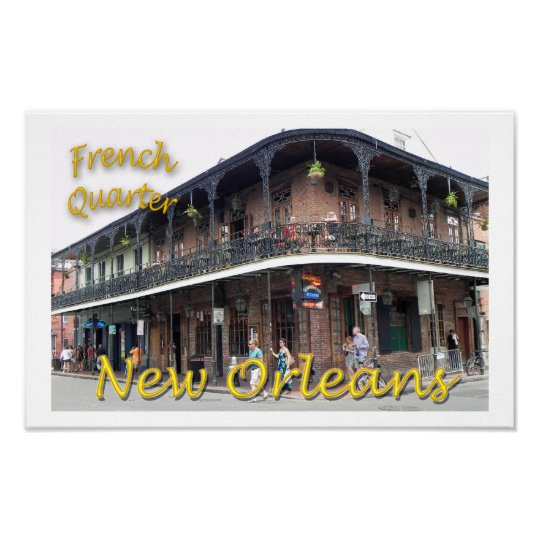 French Quarter Poster