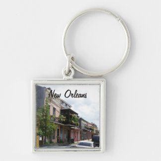 French Quarter Street View New Orleans Louisiana Key Ring