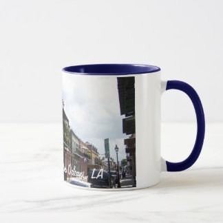 French Quarter Street View New Orleans Louisiana Mug