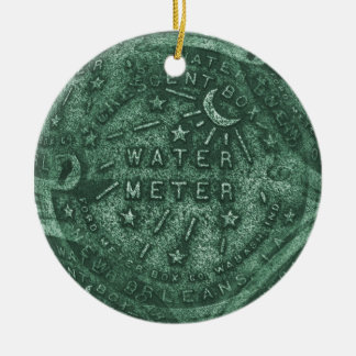 French Quarter Water Meter Christmas Ornament