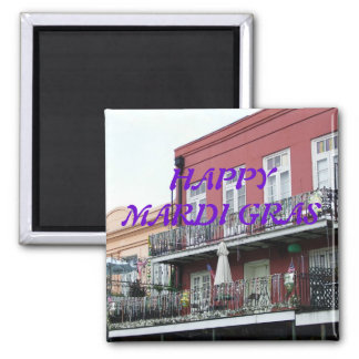 French Quarter Wrought Iron Balconies Magnet