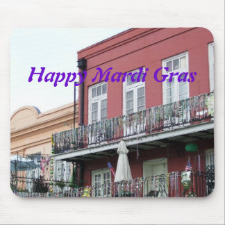 French Quarter Wrought Iron Balconies Mouse Pad