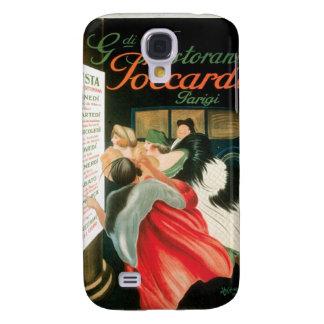 French Restaurants Vintage Food Ad Art Samsung Galaxy S4 Cases