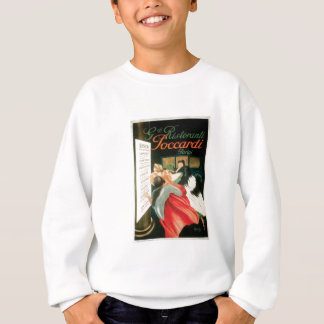 French Restaurants Vintage Food Ad Art Sweatshirt