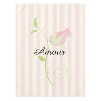 French Retro Amour Tablecloth