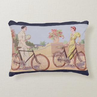 French Riviera (By bike) Decorative Cushion