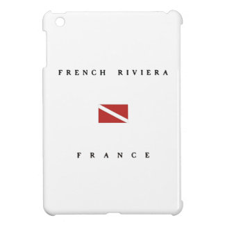 French Riviera France Scuba Dive Flag Cover For The iPad Mini