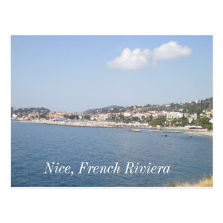 French Riviera, Nice, French Riviera Postcard