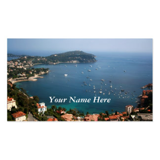 French Riviera Pack Of Standard Business Cards