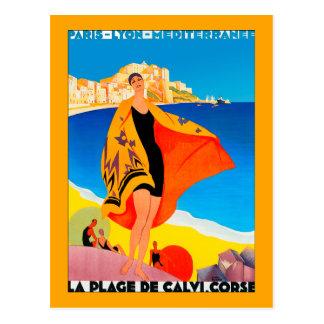 """French Riviera"" Postcard"