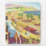 French Riviera Poster Mouse Mats