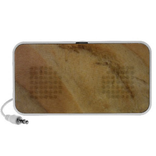 French roll texture travelling speaker