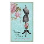 French Rosy Mannequin Business Cards