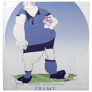 french rugby player, tony fernandes napkin