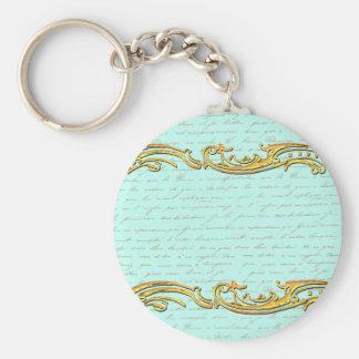 French Script for Marie Antoinette Set Keychain