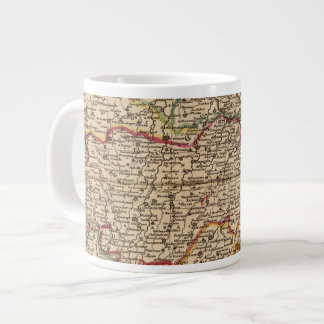 French settlements and forests large coffee mug