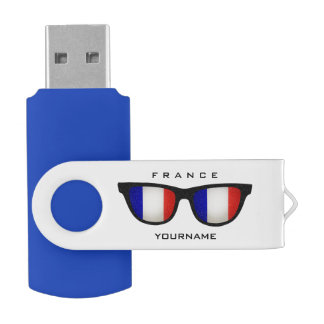 French Shades custom USB drives
