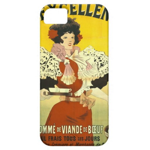 French Soup Advertisement 1895 iPhone 5 Case