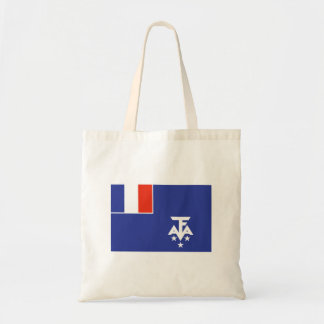 French Southern Antarctica Canvas Bags