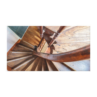 French Staircase Canvas Print