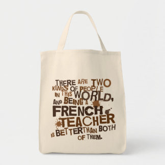 French Teacher Gift Tote Bag
