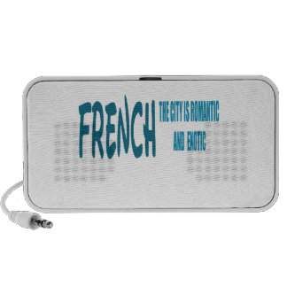 French the City Is Romantic and Exotic Travel Speaker