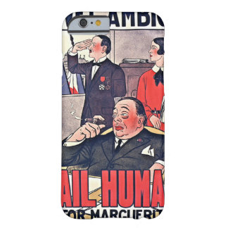 French Theater Poster 1920 Barely There iPhone 6 Case
