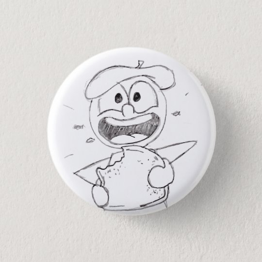 French Toast 3 Cm Round Badge