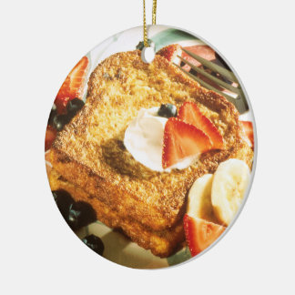 French Toast Christmas Ornament