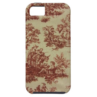 French Toile in Pink iPhone 5 Cover