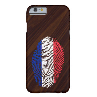 French touch fingerprint flag barely there iPhone 6 case